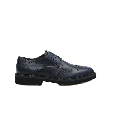 Derby shoes Navy