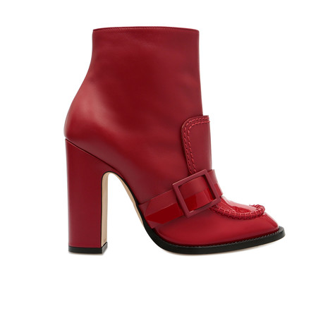 Ankle boots Ruby/ruby