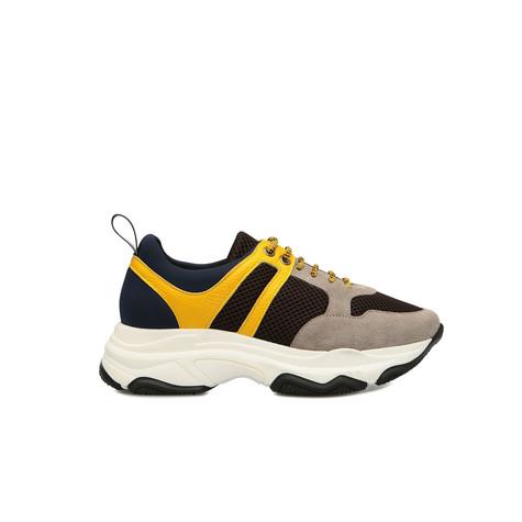 Sneakers Terra/bosco/giallo/oceano