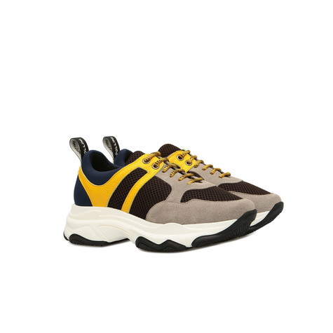 Sneakers Earth/wood/yellow/ocean