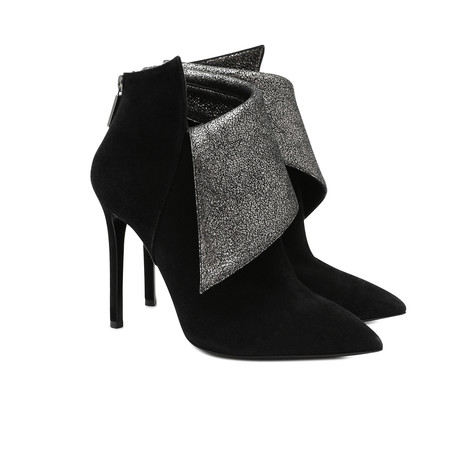 Ankle boots Black/steel