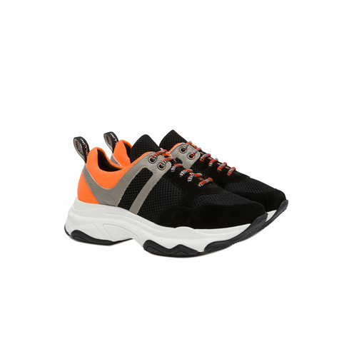 Sneakers Black/black/ice/orange