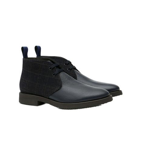 Desert boots Blue/blue