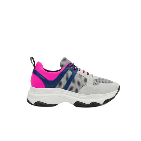 Sneakers Ice/ice/bluette/fuchsia