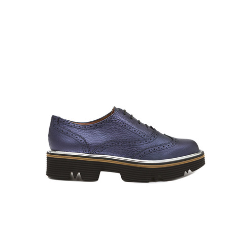 Brogues Ocean blue