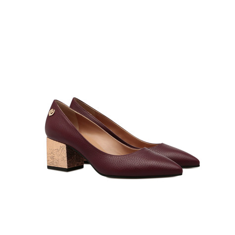 Pumps Burgundy/quartz