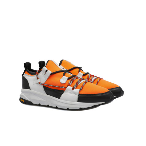 Sneakers Orange/black/white