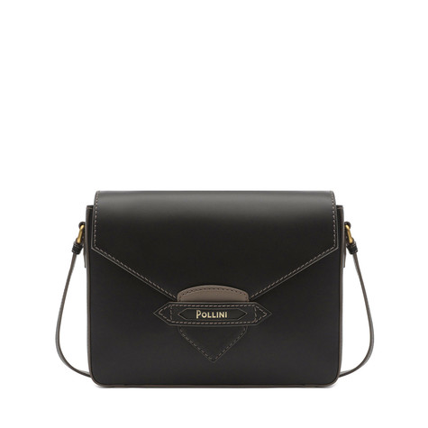 Shoulder bag Black-taupe