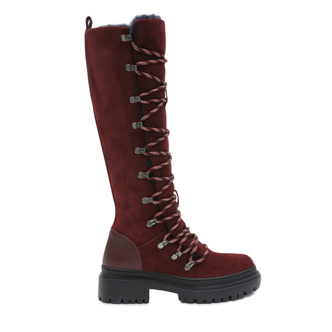 Boots Burgundy