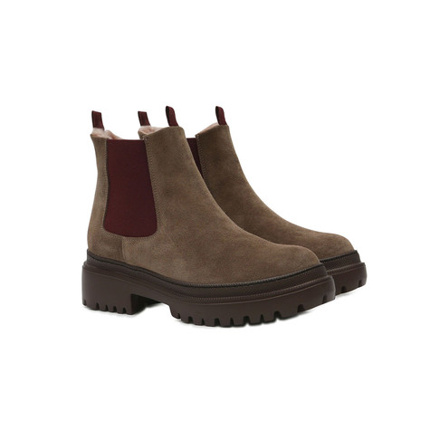 Chelsea boots Earth