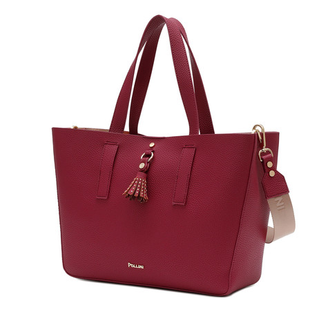 Shopping bag Bordeaux/bordeaux