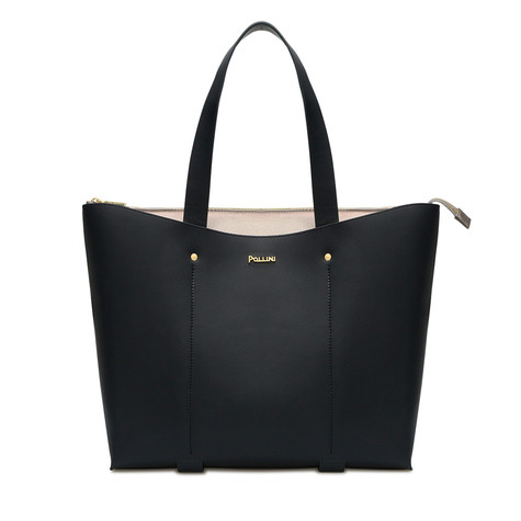 Shopping bag Navy blue/gun