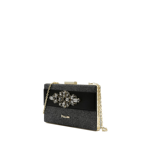 Clutch bag Grey/black