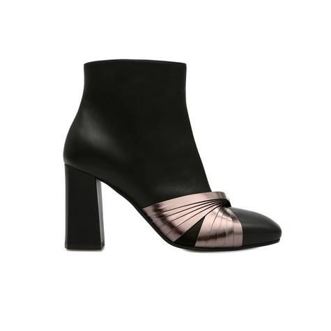 Ankle boots Black/gun