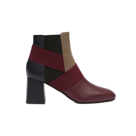 Ankle boots Burgundy/earth/ocean/black/burgundy