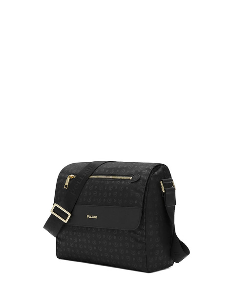 Messenger bag Black print black/black
