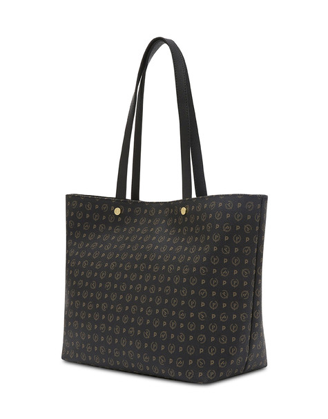 Shopping bag Black/black print black/black