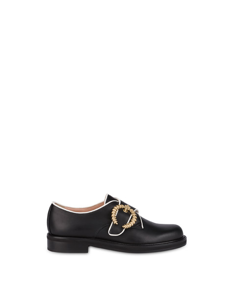 Monk strap Black/white