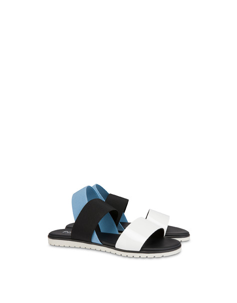 Sandals White/sky/black