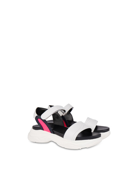 Sandals White/ocean/fuchsia