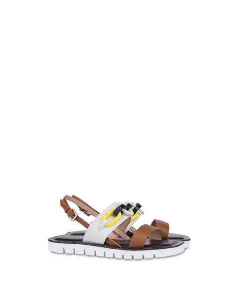 Sandals Horse/white