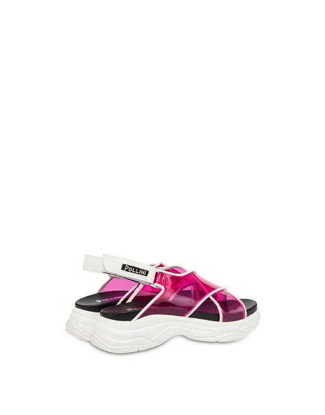 Sandals Fuchsia/white