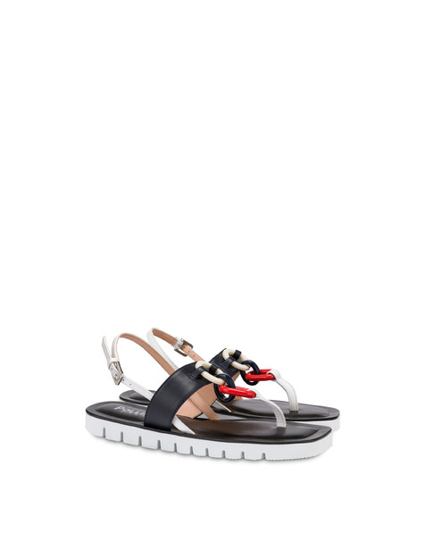 Sandals Ocean/white