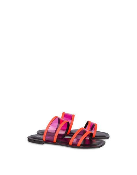 Sandals Fuchsia/orange