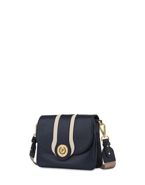 Shoulder bag Blue/ivory/blue