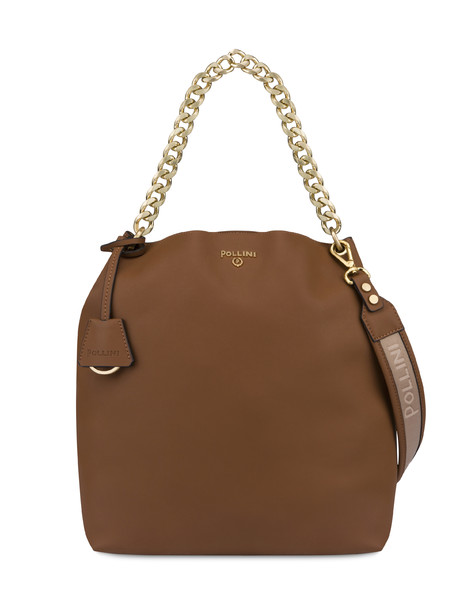 Shopping bag Leather brown