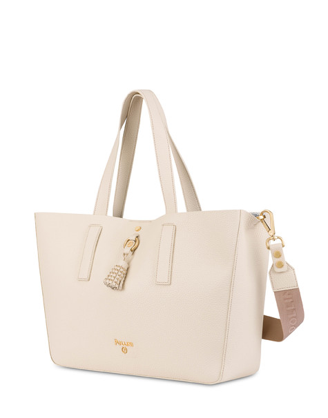 Shopping bag Ivory/sky
