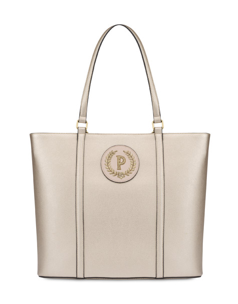 Shopping bag Platinum/nude