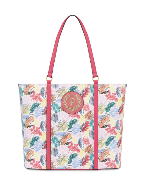 Shopping bag Multicolour/coral