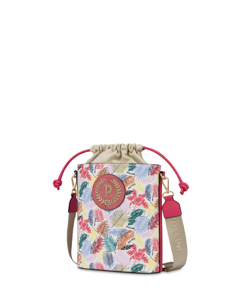 Bucket bag Multicolour/coral