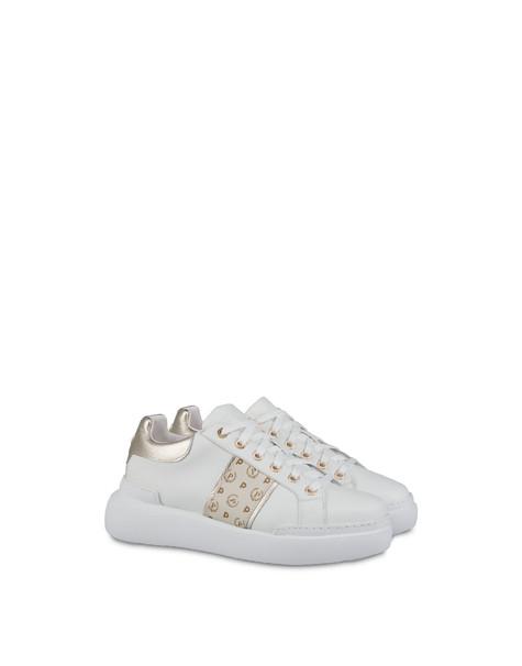 Sneakers Avorio/platino/bianco