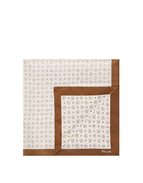 Foulard Ivory/brown