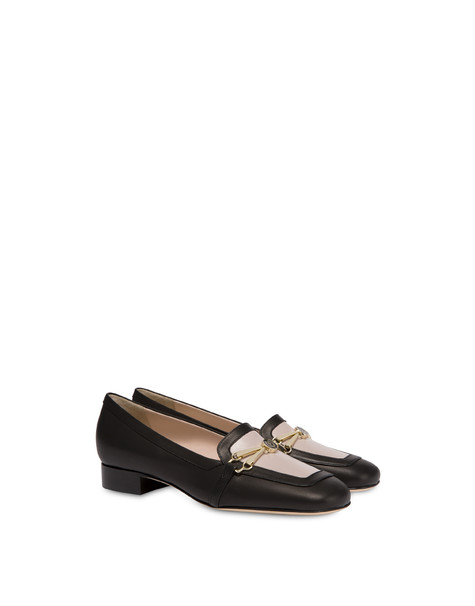 Loafers Black/nude