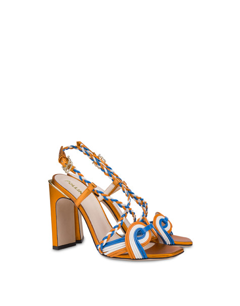Sandals Orange-white-sky