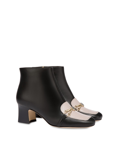 Ankle boots Black/nude