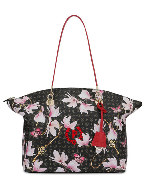 Shopping bag BLACK/RED