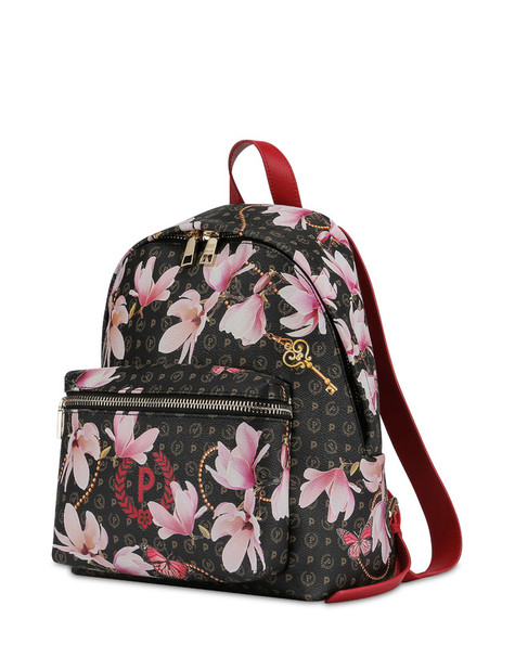 Heritage Secret garden backpack BLACK/RED