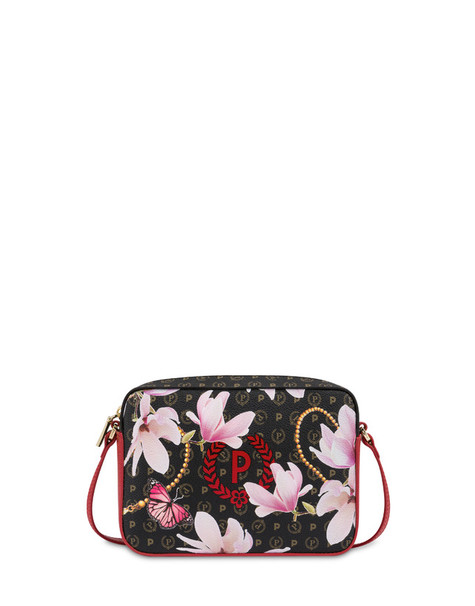 Heritage Secret Garden shoulder bag BLACK/RED