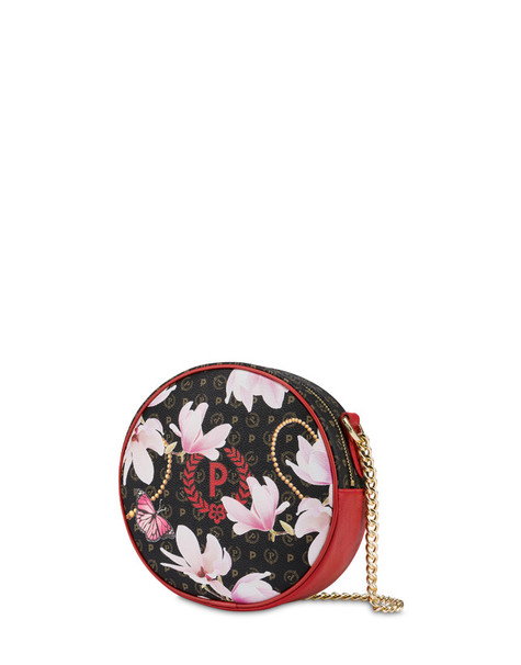 Heritage Secret Garden round bag BLACK/RED