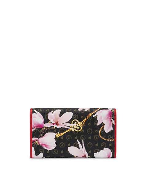 Heritage Secret garden wallet BLACK/RED