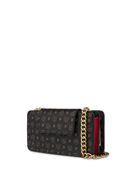 Heritage cell phone clutch bag BLACK/LAKY RED