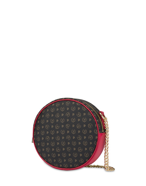 Round Heritage bag BLACK/LAKY RED