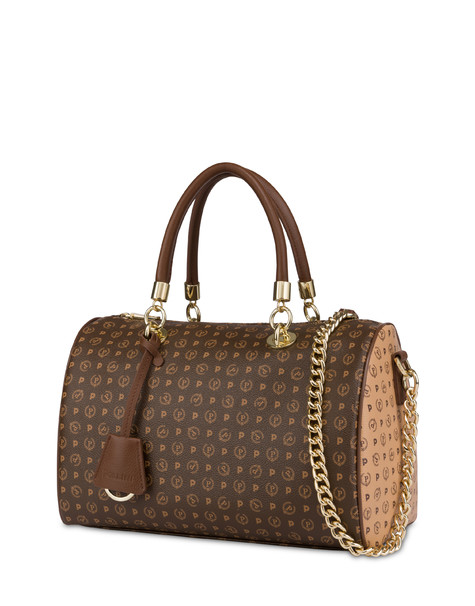 Zweifarbige Mini-Bag Heritage Braun/Sahne/Braun