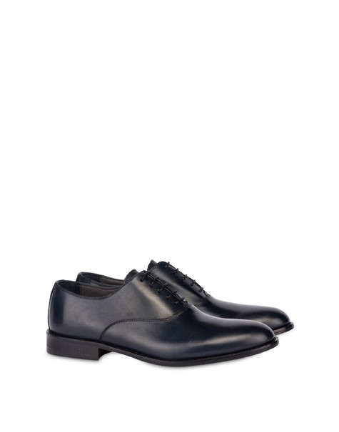 Classic Leather brogues in calfskin OCEAN
