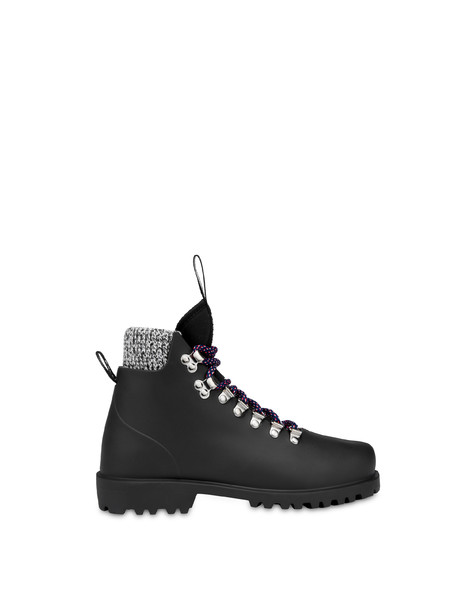 Rubber rain ankle boots BLACK