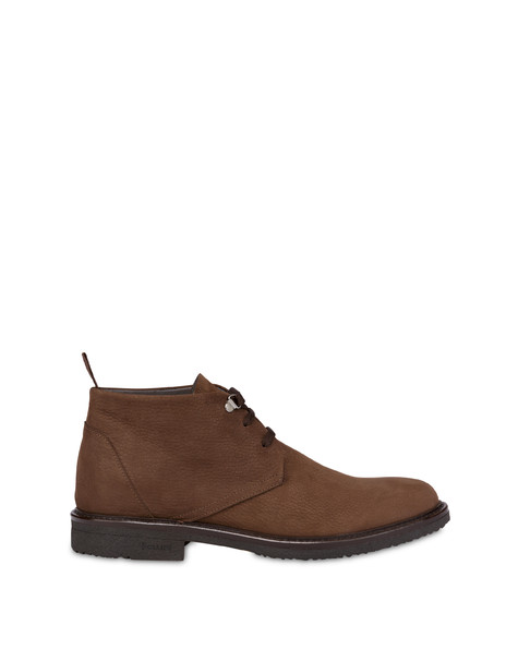 Classic Rubber nubuck ankle boots COFFEE
